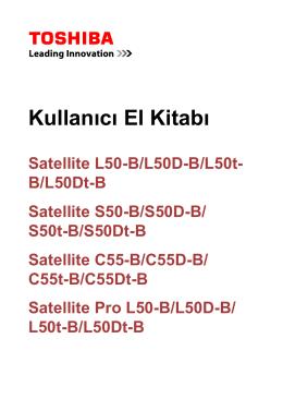 TOSHIBA Satellite L50-B/L50D-B/L50t-B/L50Dt-BSatellite