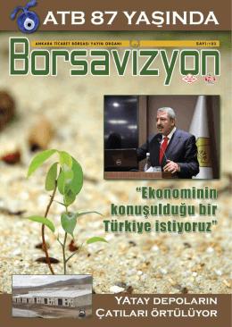 1 HABER - Ankara Ticaret Borsası