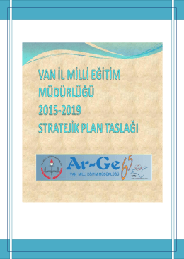 van il milli eğitim müdürlüğü 2015