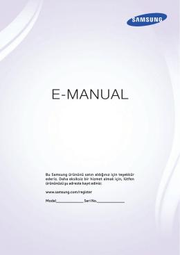 Samsung UE46H6273 Kullanım Kılavuzu (TR)