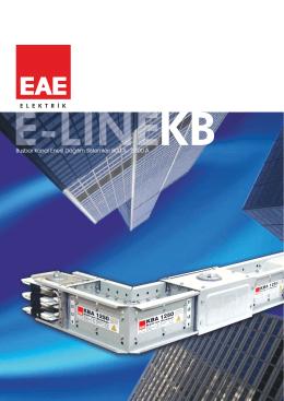 E-Line KB tr - EAE Elektrik