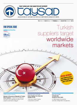 Turkish suppliers target worldwide markets