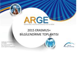 2015 İlk Toplantı Bilgilendirme - Mersin İl Milli Eğitim Müdürlüğü