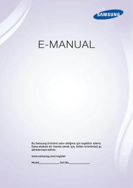 Samsung UE75F6470 Kullanım Kılavuzu (TR) - Epey