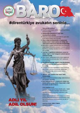 Temmuz - İstanbul Barosu