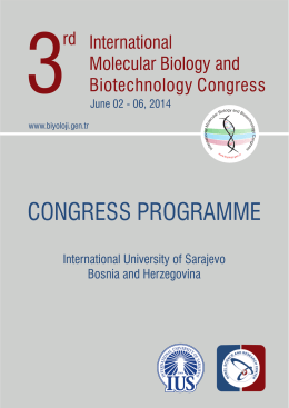 3rd International Molecular Biology and