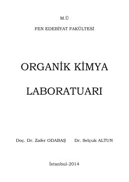 organik kimya laboratuarı