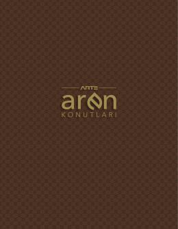 Arte Aren Katalog | İndirmek için tıklayınız.