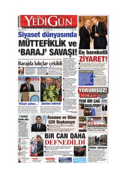 Siyaset dünyasında - Yedigün Gazetesi