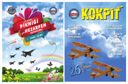OCAK-MART 2014 - Türkiye Havayolu Pilotları Derneği