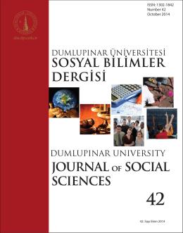 Untitled - Dumlupınar Üniversitesi