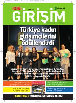 Türkiye kadın girişimcilerini ödüllendirdi