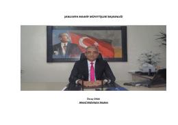 Maarif Müfettişleri Başkanlığı - Şanlıurfa Milli Eğitim Müdürlüğü