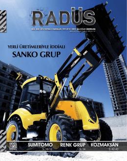 SANKO GRUP - Radüs Dergisi