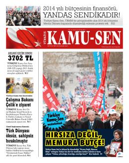 türkiye kamu-sen gazetesi için tıklayınız