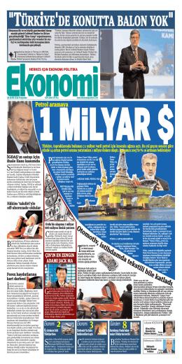 30 EKİM 2014 - Ekonomi Gazetesi