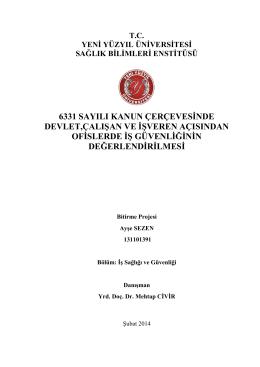 AYŞE SEZEN - İstanbul Yeni Yüzyıl Üniversitesi