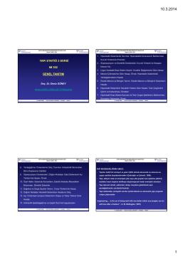 yapı statiği 2 dersi ım 302 genel tanıtım