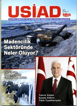 Dergiyi indirmek için tıklayınız (pdf, 17.3 MB) - USİAD