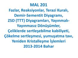 MAL201Faz-DemirKarbon