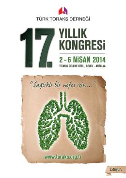 Türk Toraks Derneği 17. Yıllık Kongresi