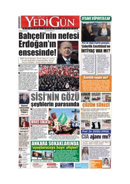 SİSİ`NİN GÖZÜ - Yedigün Gazetesi