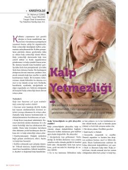 Kalp Yetmezliği - Turgut Özal Üniversitesi Hastanesi
