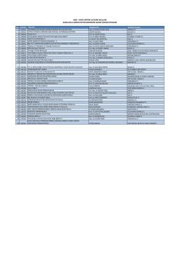4004 - doğa eğitimi ve bilim okulları kasım 2014 çağrısı