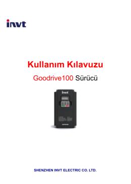 GD100 Kullanım Kılavuzu (Türkçe)