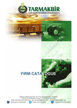 Member Catalogue