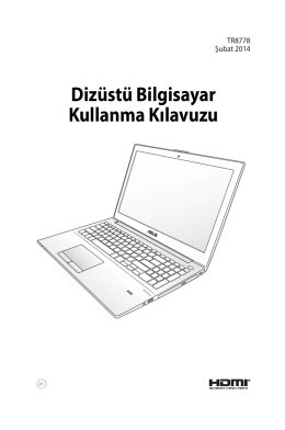 Dizüstü Bilgisayar Kullanma Kılavuzu