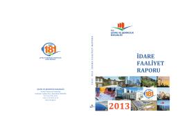 idare - Çevre ve Şehircilik Bakanlığı