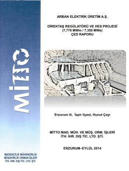 ÇED Raporunu - Çevre ve Şehircilik Bakanlığı