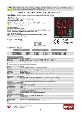 enda et4402 pıd sıcaklık kontrol cihazı