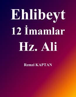 Ehlibeyt, 12 İmamlar ve Hz. Ali