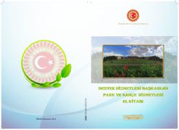 Park ve Bahçeler El Kitabı - Türkiye Büyük Millet Meclisi