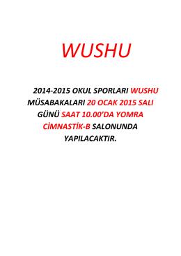 Wushu İl Birinciliği