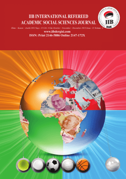 iib international refereed academic social sciences journal