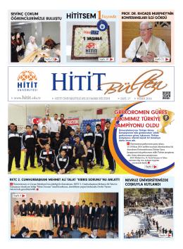 HİTİTSEM - Hitit Üniversitesi