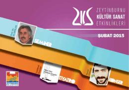 E-Dergi Şubat 2015 - Zeytinburnu Kültür Sanat
