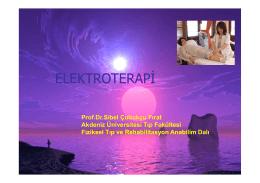Elektroterapi Ders Notu TIKLA İNDİR
