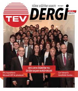 TÜRK EĞİTİM VAKFI tev.org.tr