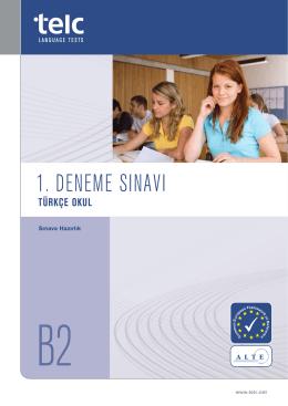 Deneme sınavı (PDF, 1 MB)