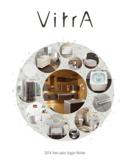 2014 Vitra Yenilikler