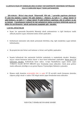 S.S.ANTALYA PALM CİTY KONAKLARI ARSA VE KONUT YAPI