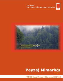 Peyzaj Mimarlığı Dergisi