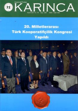 İndir (PDF, 3.4MB) - Türk Kooperatifçilik Kurumu