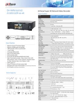 DH-NVR616/616D /616R/616DR-64-4K