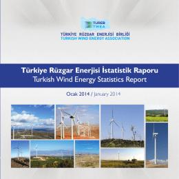 türeb`in ocak 2014 türkiye rüzgar enerjisi raporu`