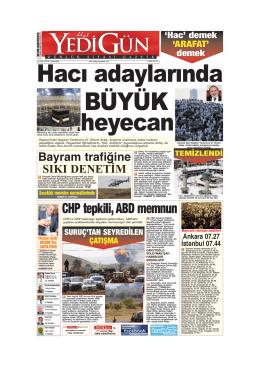 BÜYÜK - Yedigün Gazetesi